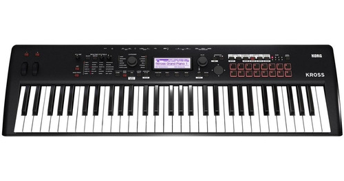 teclado workstation korg kross2-61 sampler pads 1000 presets
