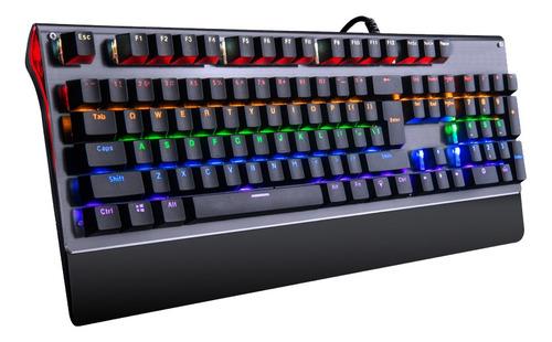teclado xenex mecanico gaming gamer juego luces 23 dimm