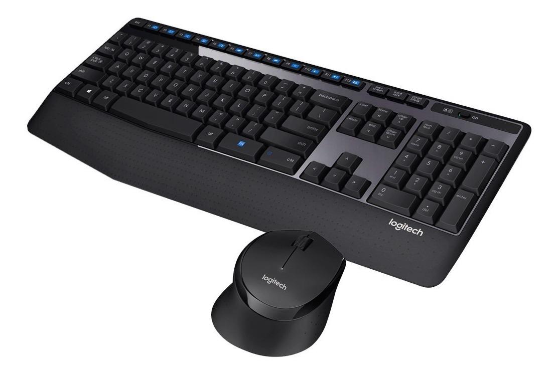 Teclado Y Mouse Combo Inalambrico Logitech Mk345 / Mk-345 ...