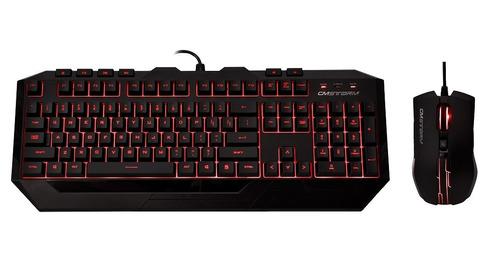 teclado y mouse devastator ii rojo sgb-3031-kkmf1