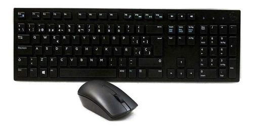 teclado y mouse inalámbrico dell / km117/