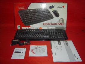 Teclado Y Mouse Inalámbrico Genius Twintouch 720e (ref 416)