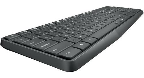teclado y mouse inalambrico logitech mk235 12e