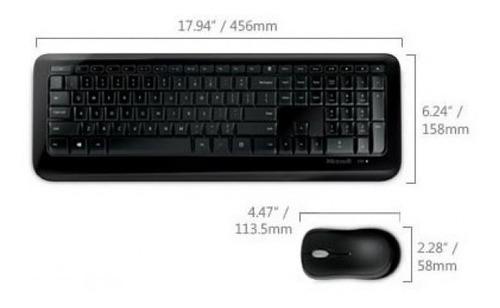 teclado y mouse inalambrico wireless desktop microsoft 850