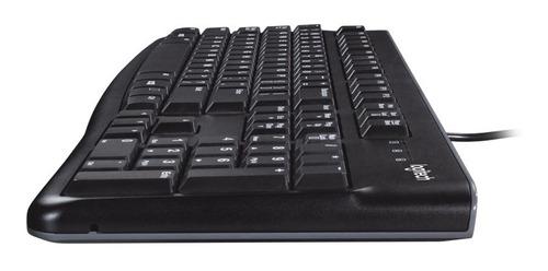 teclado y mouse logitech mk120 usb alambrico 920-004428