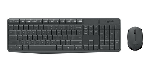 teclado y mouse logitech mk235 inalambrico 2.4ghz
