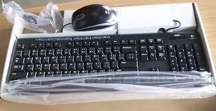 teclado y mouse usb logitech mk200 2.4ghz español ñ negro