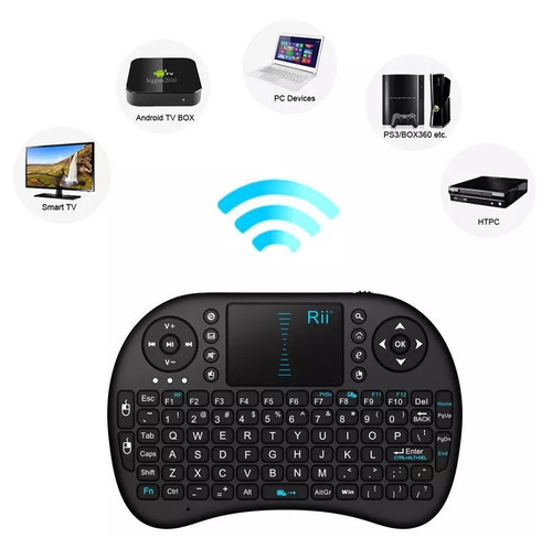 teclado y mouse wireless tablet pc smart tv xbox celulares