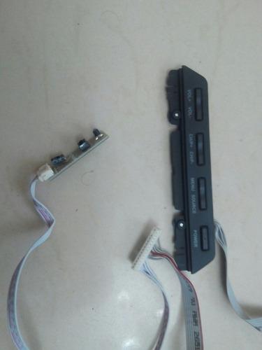 teclado y receptor infrarrojo de tv de 32  daewoo