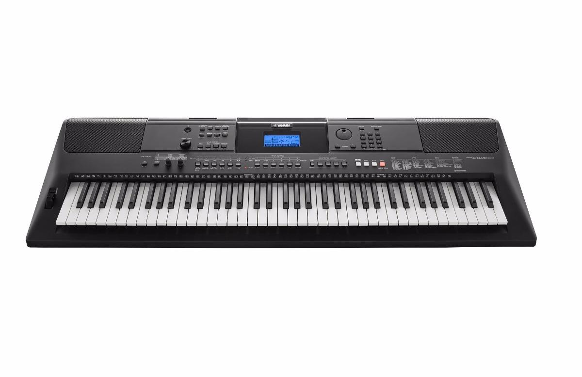 teclado yamaha arranjador port til psr ew400 preto c. Black Bedroom Furniture Sets. Home Design Ideas