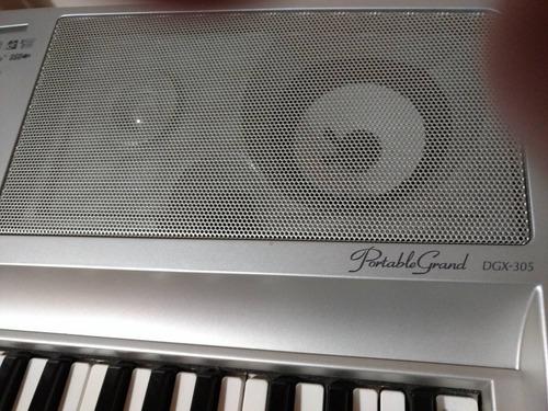 teclado yamaha grand portable dgx-305.teclado piano