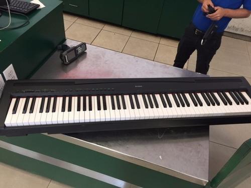 teclado yamaha p95 de 88 teclas pesadas 10 voces. Black Bedroom Furniture Sets. Home Design Ideas