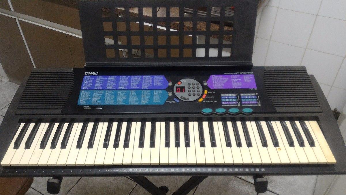 teclado yamaha psr 185 r 430 00 em mercado livre rh produto mercadolivre com br teclado yamaha psr 185 manual Yamaha PSR 80