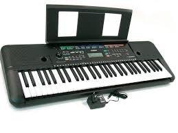 teclado yamaha psr e 253 con base y adaptador
