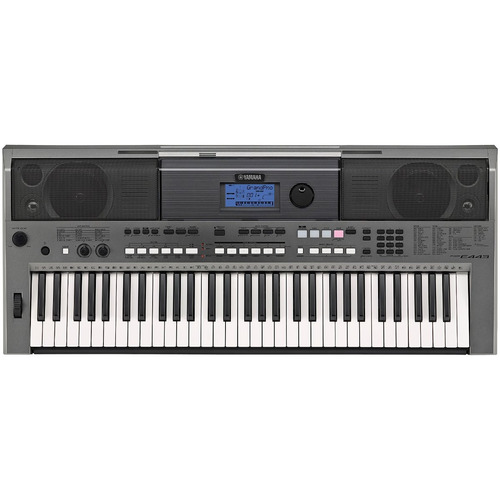 teclado yamaha psr e-443 seminuevo 61 teclas registro virgen