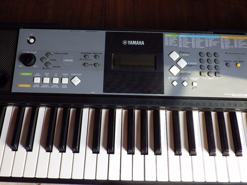 teclado yamaha psr e233 midi