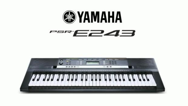 Teclado yamaha psr e243 100 original nuevo audiotech for Yamaha psr e243 accessories