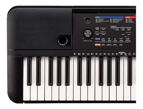 teclado yamaha psr-e263 lecciones incluye adaptador original