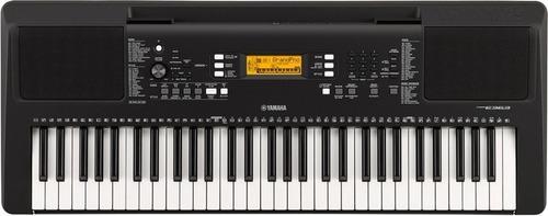teclado  yamaha psr e363 +forro +base + metodo dvd