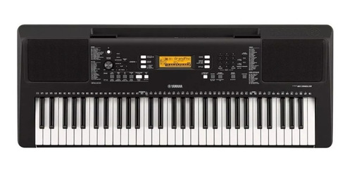 teclado yamaha psr-e363 + pedal sustain + atril + funda
