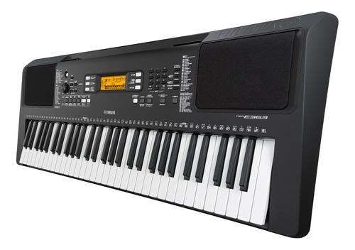 teclado yamaha psr-e363 teclas sensibles a la velocidad midi