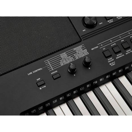 teclado yamaha psr-e423 con funda proel.