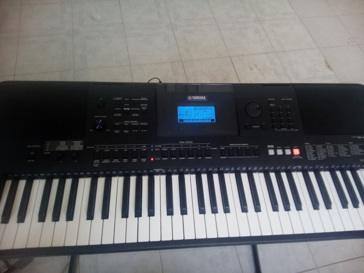 teclado yamaha psr e453 nuevo 8 en mercado libre. Black Bedroom Furniture Sets. Home Design Ideas