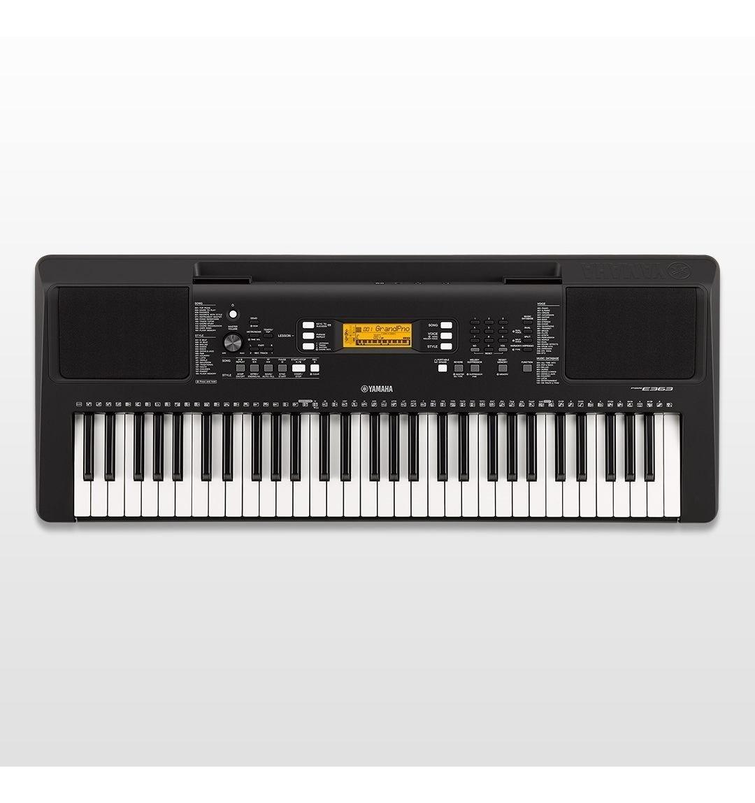 Teclado Yamaha Psr F51 61 Teclas 120 Estilos 100 Voces