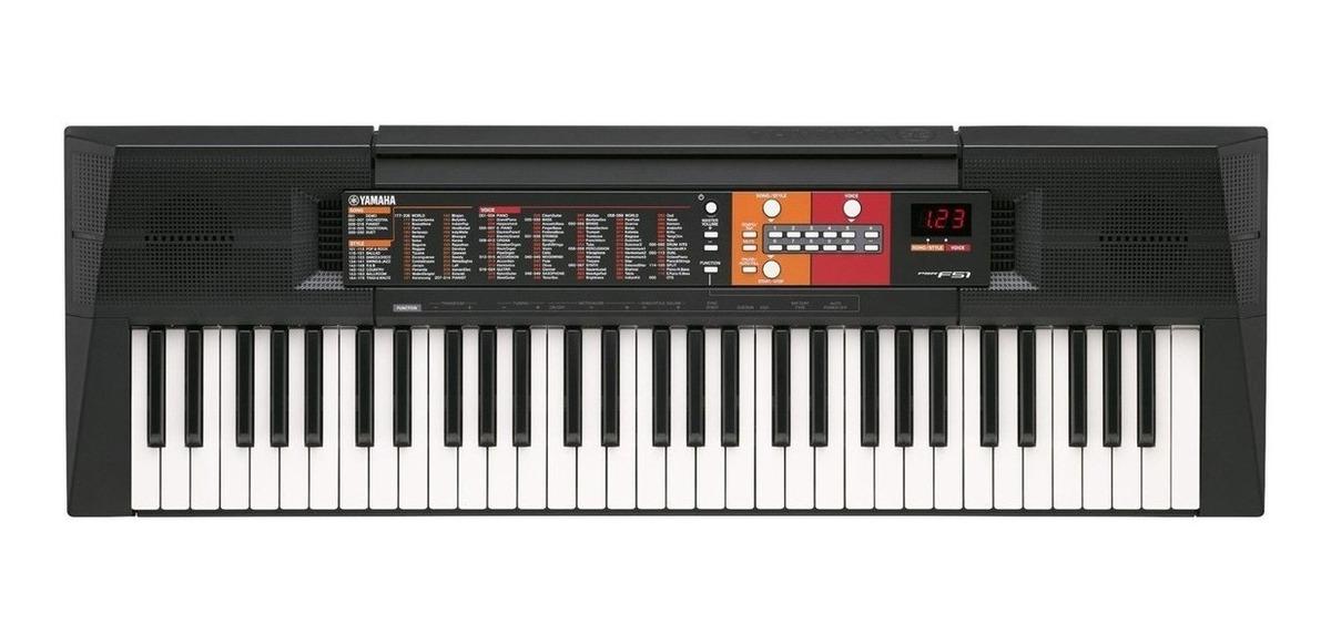 Teclado Yamaha Psr F51 61 Teclas 120 Voces Nuevo Garantia