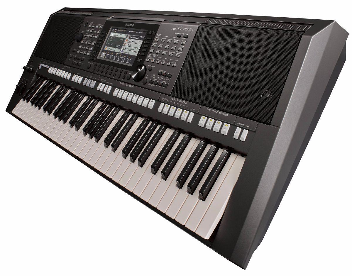 Teclado yamaha psr s770 arranjador com fonte bivolt r 6 for Yamaha psr s