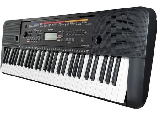 teclado yamaha psre263es 5/8 61 teclas + fuente regalo of