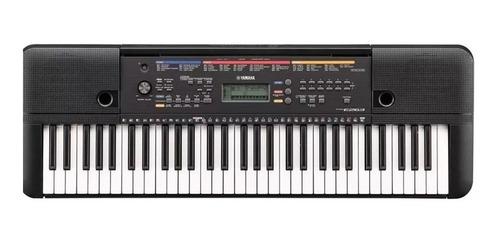 teclado yamaha psre263es +  fuente + soporte + funda