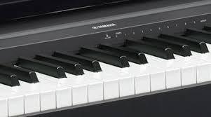 teclado yamaha usb p45 kit c/funda, atril, pedal, adaptador