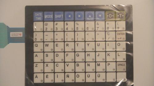 teclados balanzas cas