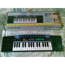 Teclado/piano Casio Sa-21 Perfecto Estado