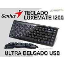Teclado Genius Luxmate I200 Nuevo Factura Tienda