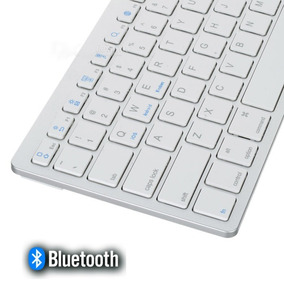 Teclado Bluetooth Inalambrico Tv Box Smart Tablet Celular