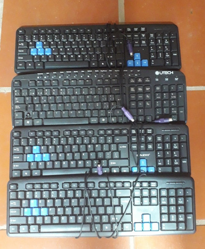 teclados para pc con conector de pines (normal)