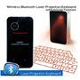 Teclado Virtual Laser Bluetooth Para Tablets Y Smartphones