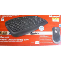 Teclado Y Mouse Microsoft Wireless,(inalambrico), Nuevo!