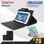 Teclado Bluetooth Con Estuche P/tablet 7 Y 8 Pulg, Ipad Mini