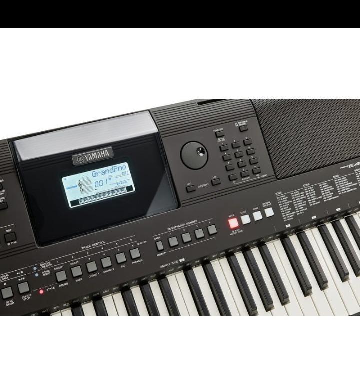 teclados pianos electronicos yamaha psr e463 aprovechaaa. Black Bedroom Furniture Sets. Home Design Ideas
