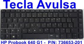 Teclas Avulsas Notebook Hp Probook 640 G1 736653-201