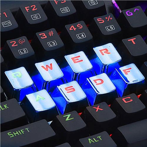 teclas keycaps redragon a103 gamer pc mecanico azules htg