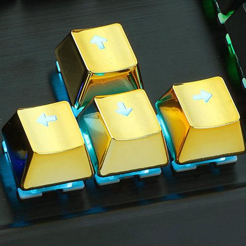 teclas keycaps redragon a103 gamer pc mecanico doradas htg