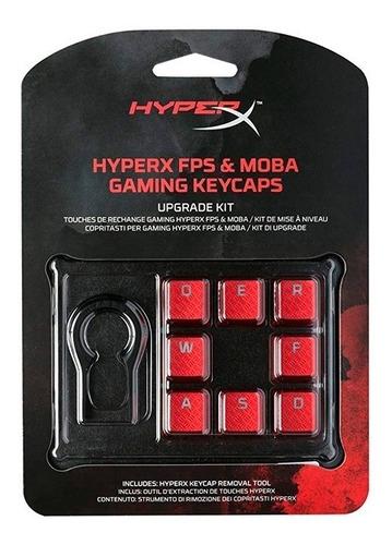 teclas para configuración gaming hyperx fps & moba