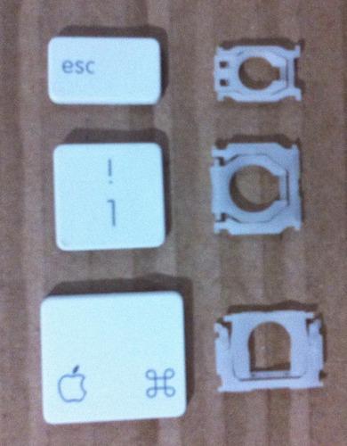 teclas para keyboard/ teclado apple macbook white 13 a1181