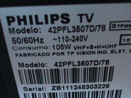 teclas +sensor tv lcd philips 42pfl3507d