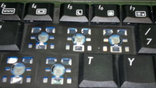 teclas sueltas de notebook lg e200 - e300 - e500