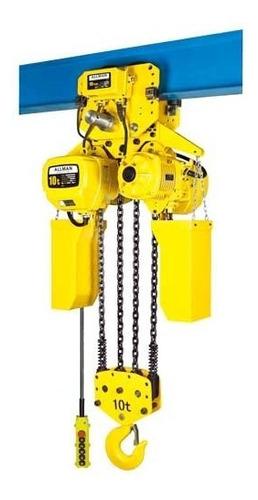 tecle electrico a cadena, para izaje de carga